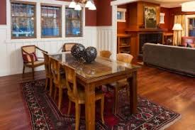 Live Large in a Small House   an Open Floor Plan   Bungalow CompanyThe Fir Dining Room