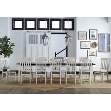 Shop Tessa <b>9</b>-<b>piece Solid</b> Wood Dining Set - On Sale - Overstock ...