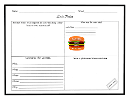 exit ticket template cyberuse fast feedback continuous improvement oqratqa7