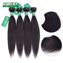 Прямые Волосы бразильские человеческие волосы плетение ...