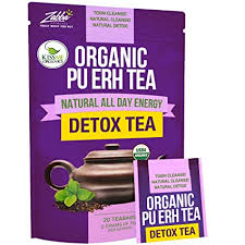 Organic Puerh Detox Tea - Premium Quality ... - Amazon.com