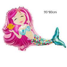 Mermaid <b>balloon</b> princes birthday <b>balloon little mermaid</b> foil <b>balloon</b> ...