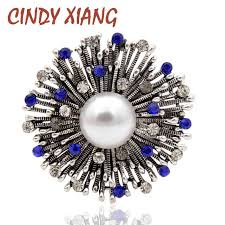 <b>CINDY XIANG New Arrival</b> Large Starfish Brooches for Women ...