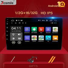 <b>10</b> .<b>1 inch 4</b> core 1Din Android 10.0 Car radio Multimedia Player ...