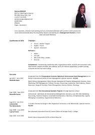 doriane bregier resume 2016