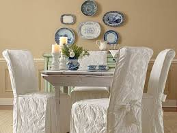 dining chair arms slipcovers: slipcovers for dining chairs without arms