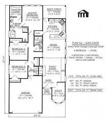 Narrow House Plans In A Small And Narrow Lot For A Big Family With    Narrow House Plans In A Small And Narrow Lot For A Big Family With Intended For Elegant And Stunning Small House Plans For A Family With Regard To Provide