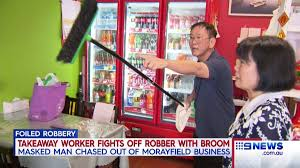 a chinese takeaway store worker has foiled an armed robber s plans a chinese takeaway store worker has foiled an armed robber s plans by fighting him off