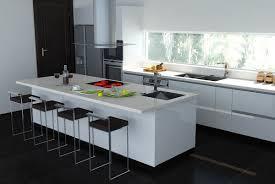 Black White Kitchen Designs Black And White Kitchen Island Kitchen Designs Pinterest