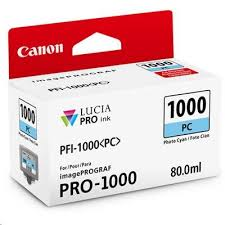 Buy the <b>Canon PFI-1000PC PHOTO CYAN</b> INK ( PFI-1000PC ...