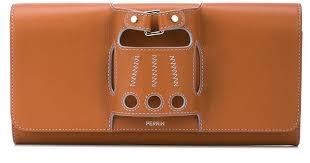Клатч 'le Cabriolet' PERRIN Paris, цвет: Коричневый, материал ...