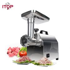 <b>ITOP Electric Meat Grinder</b> Stainless Steel Food Mincer ,1200W ...
