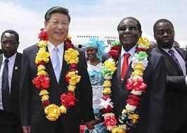 Image result for Images entre dirigéant chinois et africain