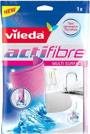 ᐉ <b>Салфетка</b> для сантехники <b>Vileda Actifibre 29х29</b> см см 1 шт./уп ...