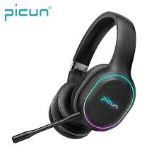 Newest Picun <b>P80S</b> Mobile <b>Games Headphone</b> LED RGB Vibration ...