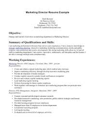 best photos of marketing resume summary marketing director resume template objective for marketing resume career objective