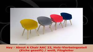hay about a chair aac 22 holzvierbeingestell eiche geseift wei filzgleiter chair aac22 aac 22