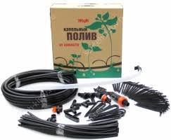 <b>Капельный полив Жук</b> от емкости (на 60 растений) купить в ...