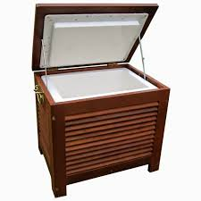 cooler cart ice chest rolling party merry garden wooden patio cooler merry stainless steel patio cooler me