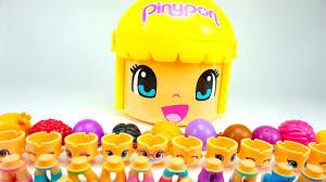 <b>Игрушки</b> Пинипон, распаковываем <b>игровой набор</b> для детей ...