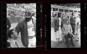 bob gibson and roy campanella barry elz photography bob gibson and roy campanella 1975