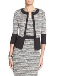 La Ponche Knit <b>Jacket</b> | St. John Knits | Moda vestidos, Vestidos ...