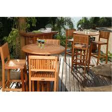 piece patio bar set ibiza  piece patio bar set