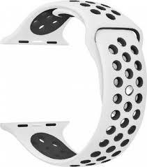 <b>Силиконовый ремешок для</b> Apple Watch <b>перфорированный</b> 38 ...