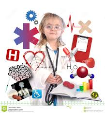 child doctor academic career on white royalty stock child doctor academic career on white