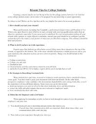 resume tips for college students internships cipanewsletter cover letter examples of college resume examples of college