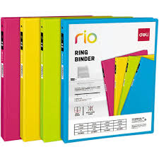 """<b>Папка</b> на <b>2</b>-х D-<b>кольцах</b> """"Rio EB10100"""" A4, в ассортименте ..."""