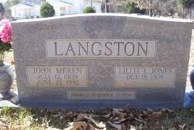 John Meren, July 12, 1909 - June 22, 1992, Married November 27, 1930, John Copham - langstonjm
