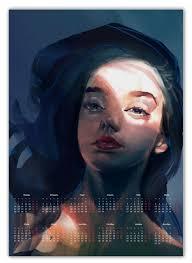 <b>Календарь А2 Light</b> and shadow #2877256 от Дана Столыпина