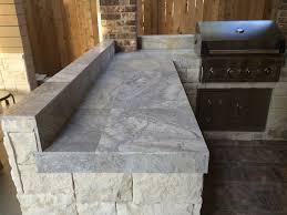 limestone tiles kitchen:  kitchen glamorous silver travertine tile can be a unique stylish countertop