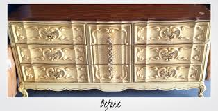 refinish carved wooden furniture before