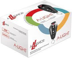 <b>Автосигнализация Alligator A-LIGHT</b> без обратной связи брелок ...
