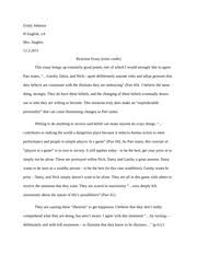 of mice and men reaction essay example  emily johnson h english pages reaction essayexample