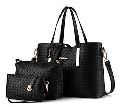 TIBES Fashion Pu Leather Handbag Shoulder Bag ... - Amazon.com