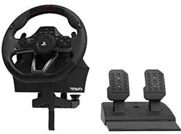 <b>APEX Racing Wheel</b>, Black, <b>HORI</b>, PlayStation 4, PlayStation 3 and ...