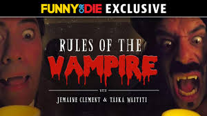 Rules Of The <b>Vampire with</b> Jemaine Clement and Taika Waititi ...