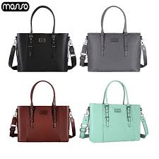 <b>MOSISO</b> 2019 Shoulder Bag For Women PU <b>Leather</b> Business Bag ...
