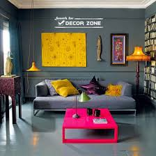 living room decorating ideas dark walls and furniture with bright coffee table bright coloured furniture