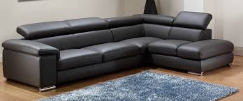 f amazing modern black angel genuine italian leather sectional sofa with adjustable headrest and single right arms combine chrome base feet for christmas amazing latest italian furniture design