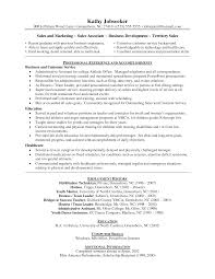 sales sample resume example resume  seangarrette co s