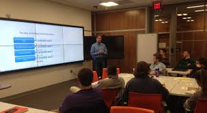 alum matt given invests time resources to help others succeed angel investor matt given speaks to entrepreneurial students at clemson