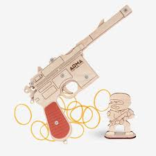 Пистолет Революции «Маузер» К-96, игрушка-<b>резинкострел</b> ...