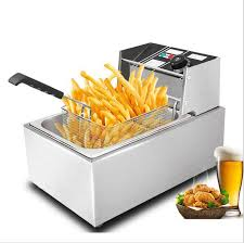 Free shipping 220v or 110v CE 8L <b>Electric Deep Fryer Stainless</b> ...