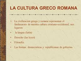 Resultado de imagem para cultura greco romana