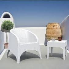 aruba wickerlook resin balcony furniture set 3 piece white for 489 outdoorcomfortsets outdoorfurniture balcony furniture miami