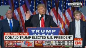「trump speaks after became president」の画像検索結果